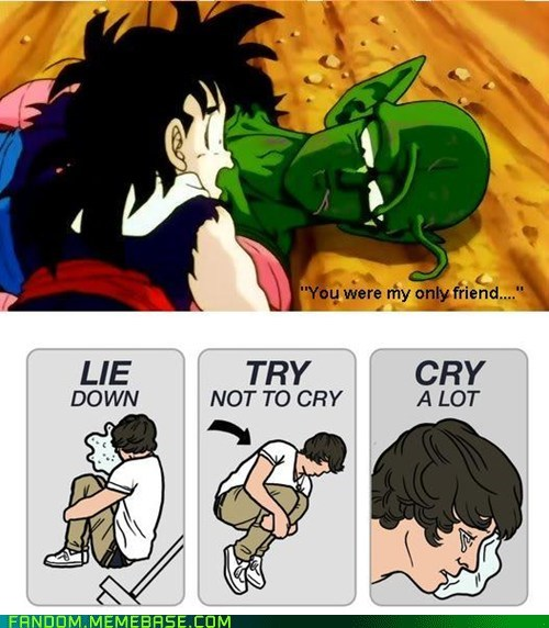 try not to cry Dragon Ball Z cartoons - 7028390656