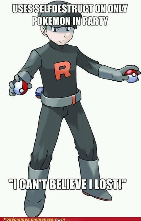 Team Rocket,Memes,selfdestruct