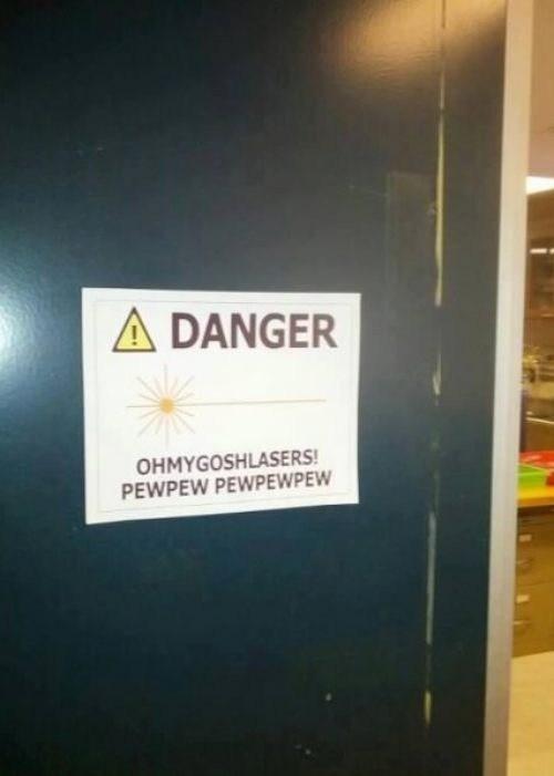 pew pew pew warning lasers - 7029377280