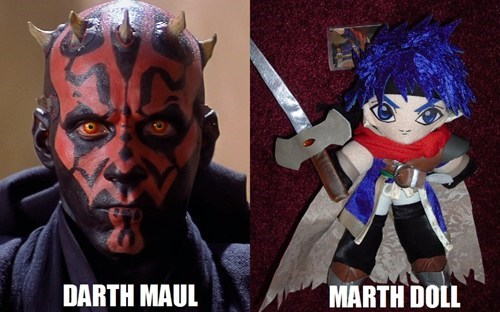 darth maul totally sounds like marth - 7029398272