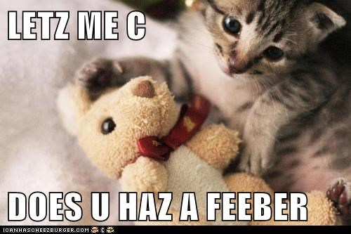 toy,doctor,fever,kitten,kitty,funny