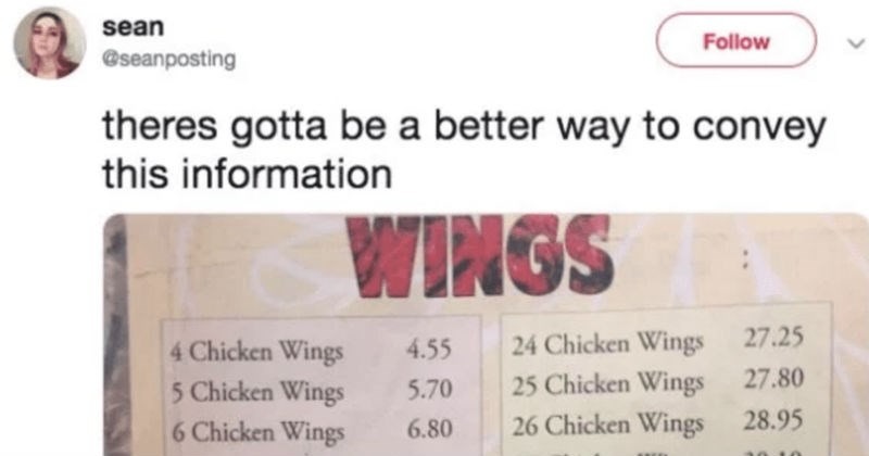 troll goes after chicken menu and does not disappoint