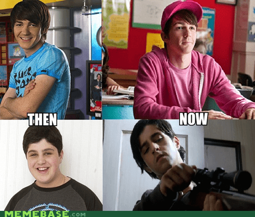 then vs now fairly odd parents IRL movies - 7029839104