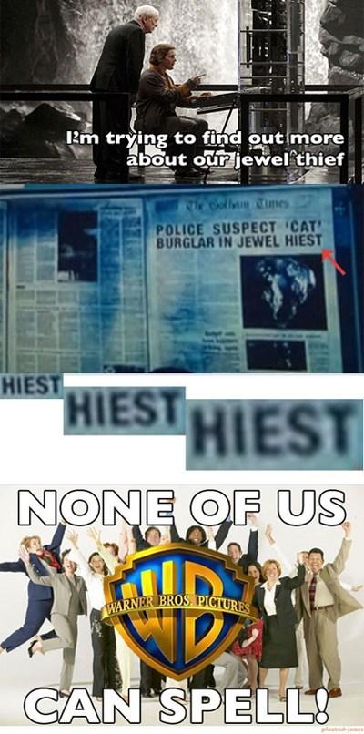 heist batman spelling burglar - 7030123264
