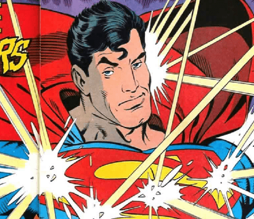 expression,off the page,sassy,superman