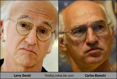 grey Curb Your Enthusiasm TLL carlos bianchi soccer football balding larry david