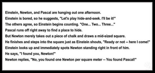 Ha! Take That Pascal!