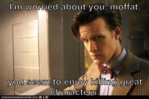 killing the doctor Matt Smith doctor who characters Steven Moffat - 7031648768