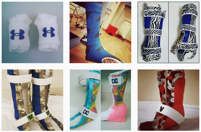 therapist,cool,shoes,art,list,casts,medical,win