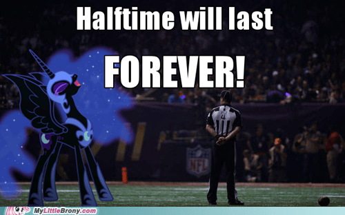nightmare moon,nfl,football,power outage