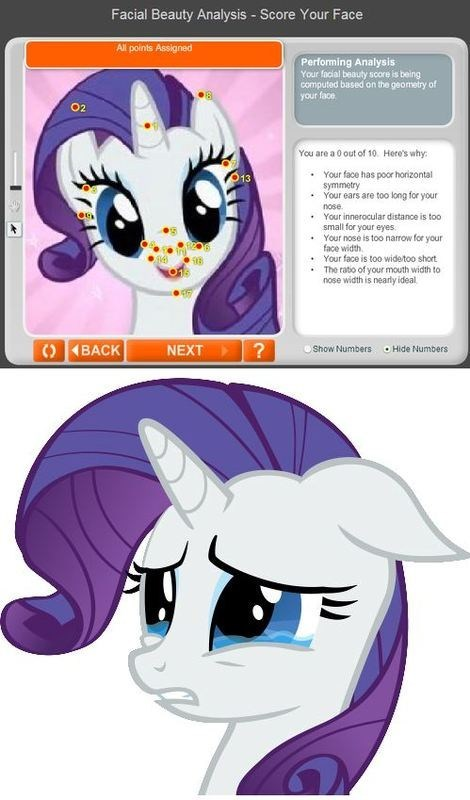 Sad,bendy must be sad,rarity,facial beauty