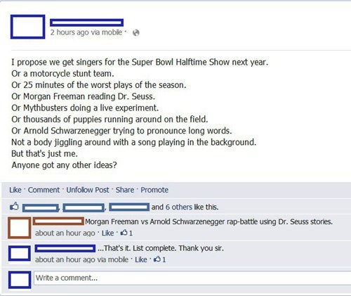 dr seuss nfl beyoncé Arnold Schwarzenegger mythbusters football Morgan Freeman failbook g rated - 7033362176