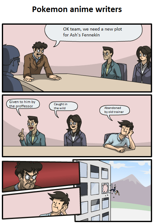 ash fennekin gen VI anime Memes comic - 7033472256