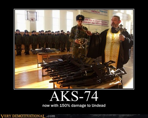 holy russia blessing undead rifles