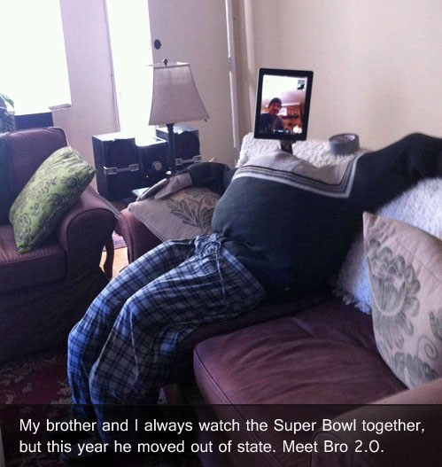 forever alone brother super bowl - 7035141888