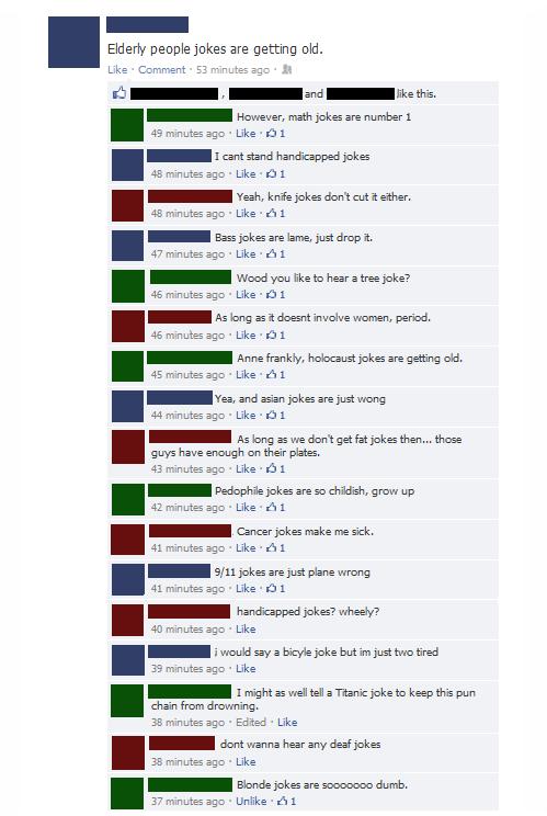 jokes,puns,facebook