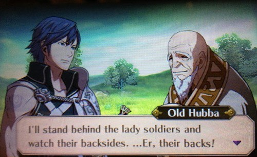 old hubba fire emblem text gameplay DLC fire emblem awakening