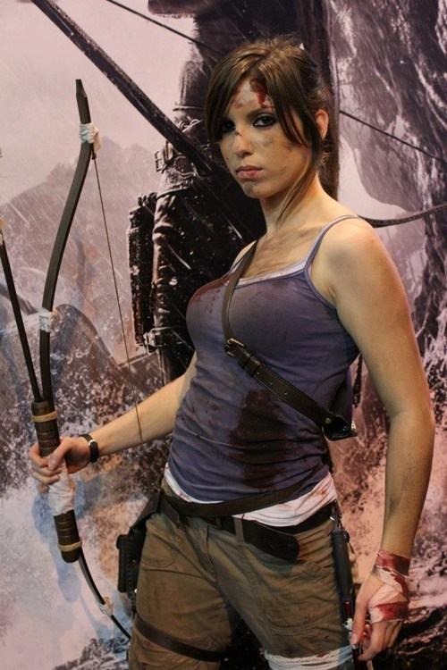 lara croft cosplay Tomb Raider - 7035327744