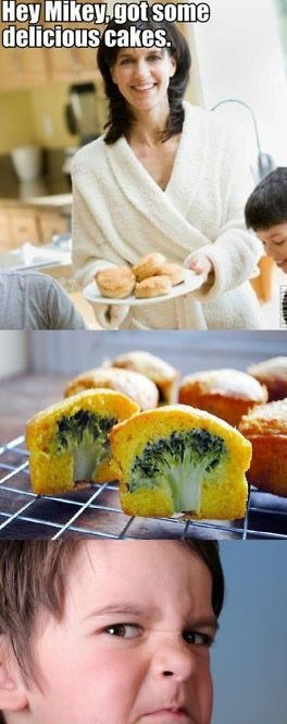troll mom broccoli muffins - 7035369216