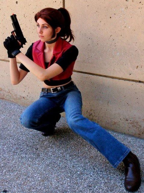 Claire Redfield cosplay video games resident evil