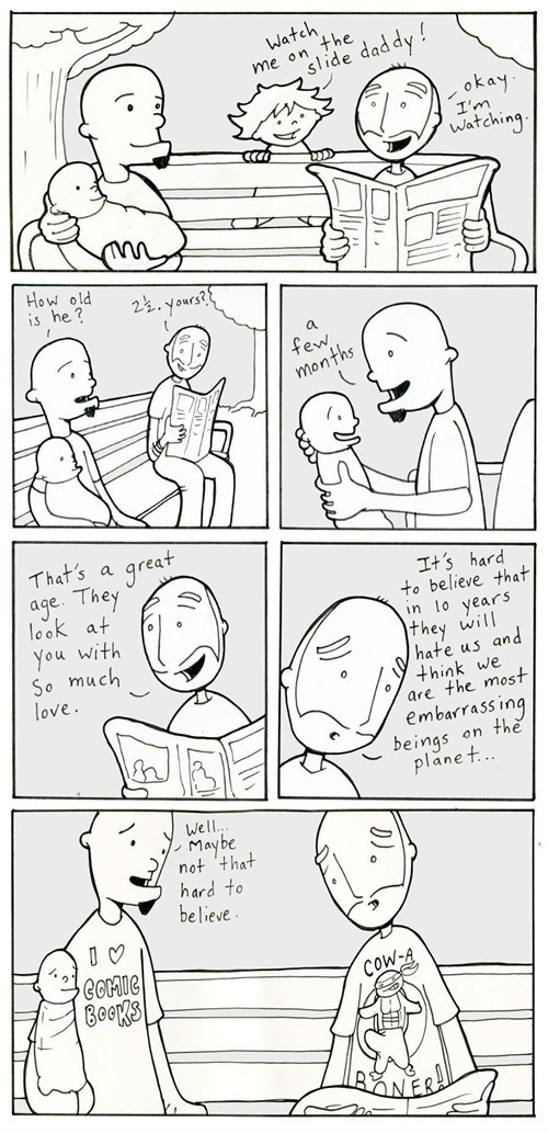 growing up,comics,lunar baboon,webcomics