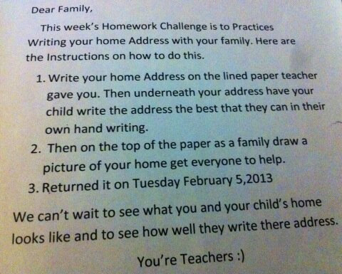 homework dumb teachers typos g rated Parenting FAILS