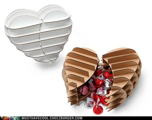 heart box gift chocolate Valentines day
