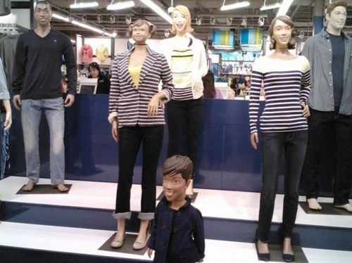 old navy Mannequins you had one job