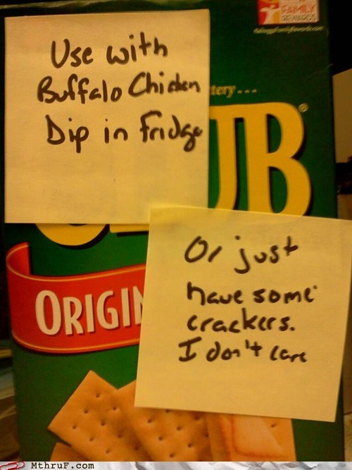buffalo chicken,what's the point,crackers
