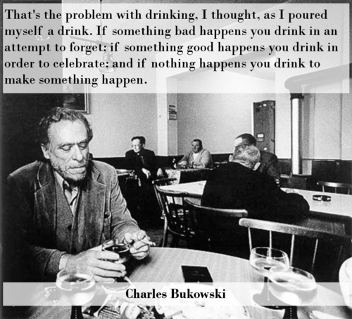 charles bukowski,Wasted Wisdom,making it happen,after 12,g rated