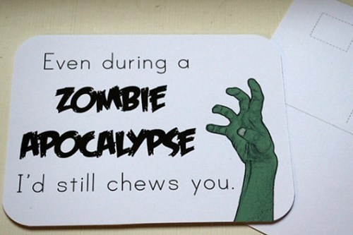 zombie,brains,etsy,apocalypse,Valentines day,dating fails,g rated