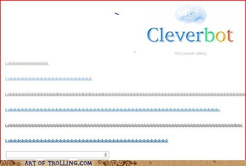 lololol Cleverbot - 7035884032