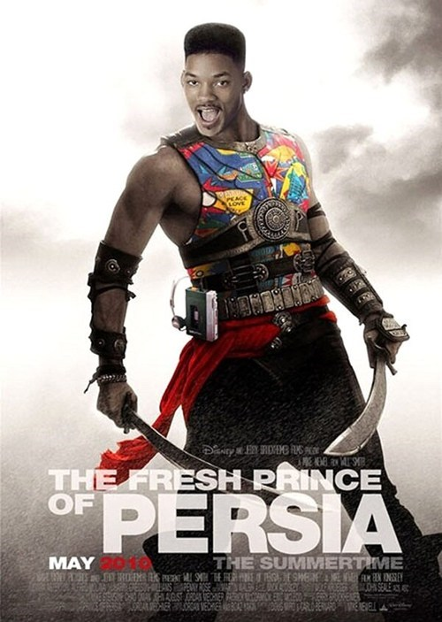 fresh prince,prince of persia,Movie,video game franchise,will smith