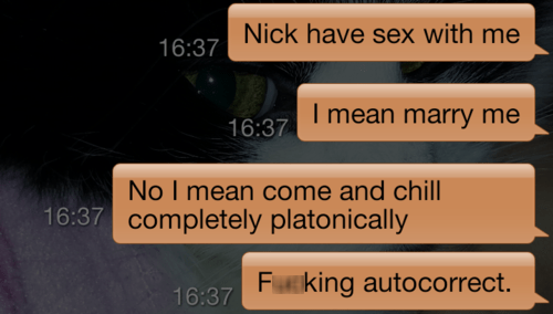 autocorrected android platonic what do you want