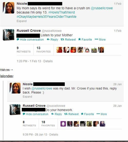 twitter parenting Russell Crowe failbook g rated - 7036004096