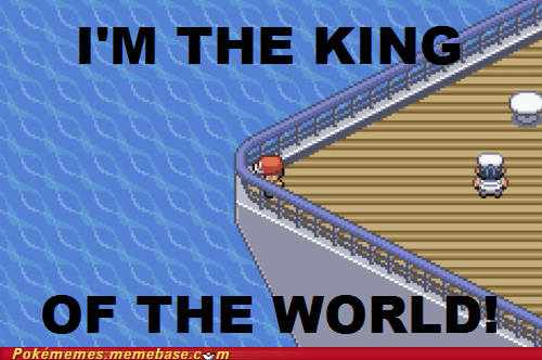 titanic,crossover,king of the world