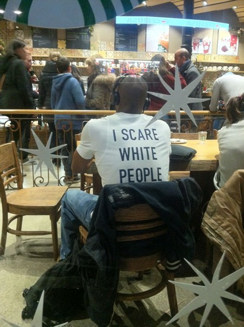 scary t shirts white people - 7036308736