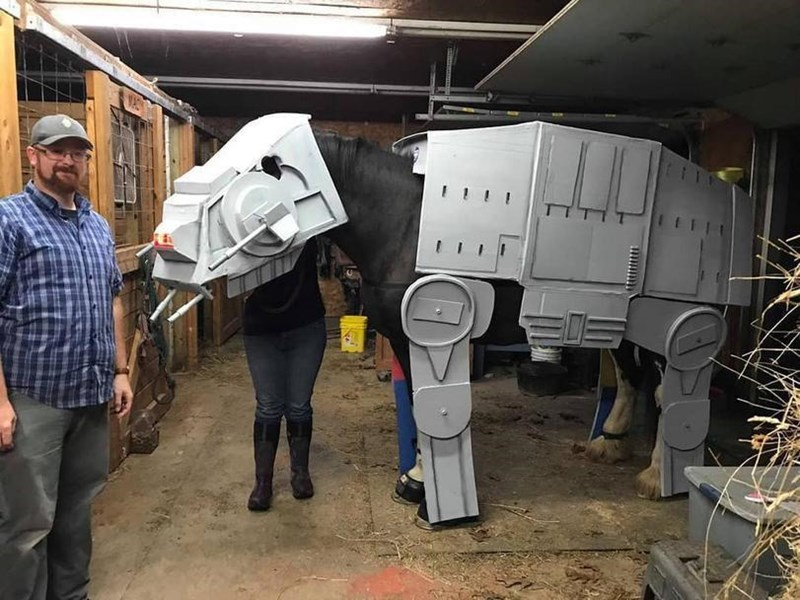 costume halloween costumes star wars halloween horse - 7036421