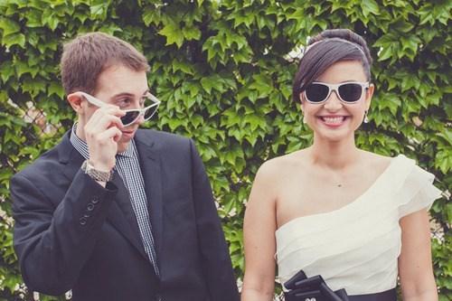 bride sunglasses groom cute - 7036451072