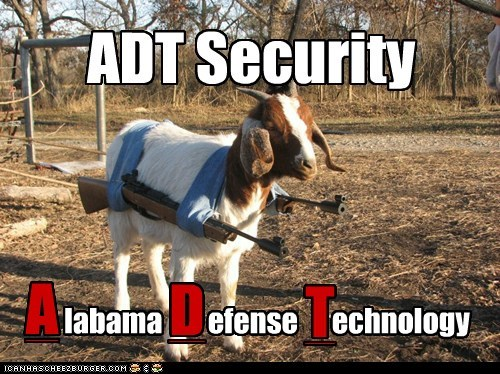 ADT Security labama efense echnology A D T