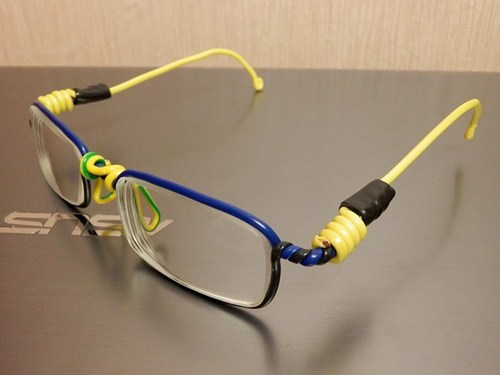 lanyard glasses paperclip g rated there I fixed it - 7037623296