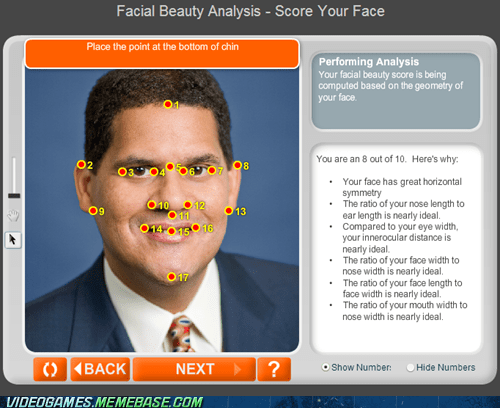 my body is reggie,nintendo,facial beauty,would bang