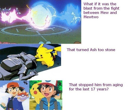 ash mind blown anime aging - 7038741504