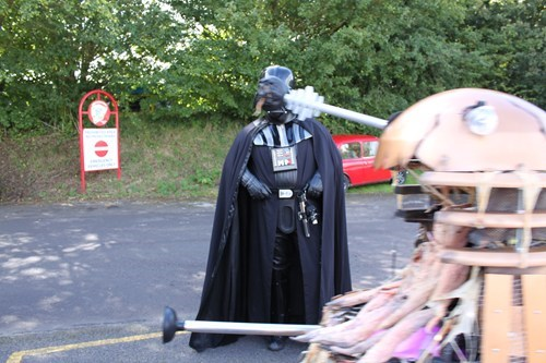 costume,dalek,star wars,doctor who,darth vader