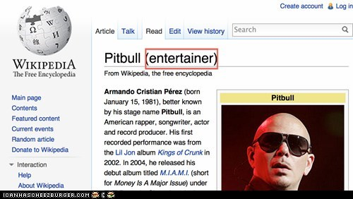 Goog Guy Wikipedia knows he's not a singer.