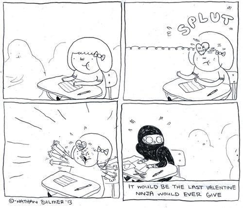 ninja comics eat more bikes - 7039119104