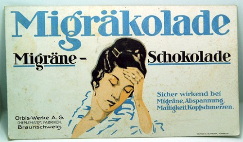 headache Ad medicine german migraine chocolate - 7039164160
