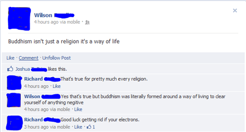 religion Enlightened buddhism way of life