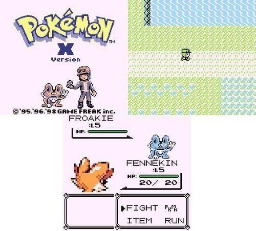 sprites art Pokemon X classic - 7039272704