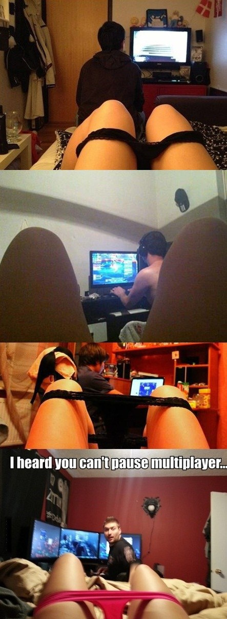 smexytimes gamers girls one does not simply pause - 7039306240